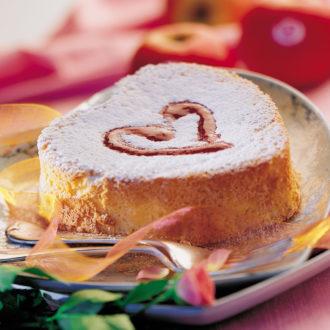 Pain doux de pommes Pink Lady® au gingembre et son coulis de fruits rouges