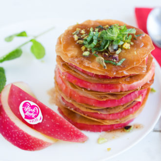 Minis-pastis gascon aux pommes Pink Lady